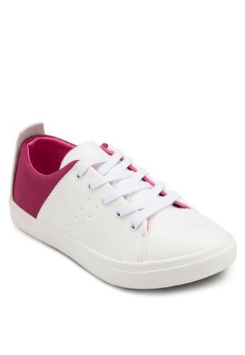 色塊繫帶運動鞋, esprit cn女鞋, 鞋