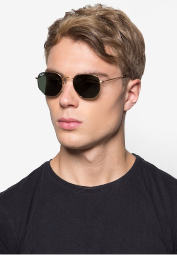 6b76c09478 amazon genuine ray ban aviator c8ce1 a7278; clearance buy ray ban hexagonal  flat lenses rb3548n sunglasses online on zalora singapore abaca 1c9a0