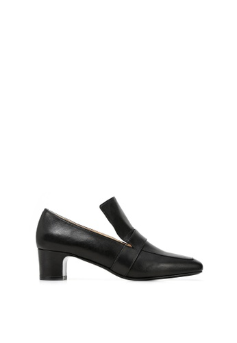RABEANCO black RABEANCO NOONA CHUNKY Heel Loafers - Black 78DA3SH5B863C1GS_1