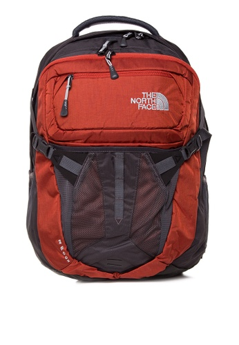 The North Face grey and red Recon Backpack TH803AC0J2V2PH_1
