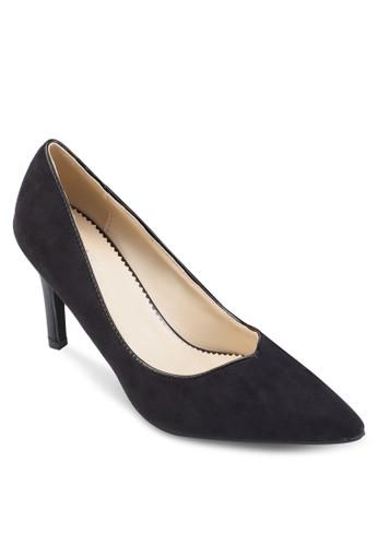 Macyesprit hong kong 分店 基本款撞色尖頭高跟鞋, 女鞋, 鞋