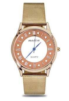 Madisa Women's Stainless Steel Analog Wrist Watch