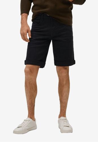 Mango Man black Black Denim Bermuda Shorts DCF7EAA41F66BEGS_1