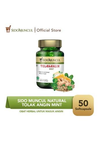 Sido Muncul green Sido Muncul Natural Tolak Angin Mint Soft Capsule 50 Kapsul F2927ESC3C5B50GS_1