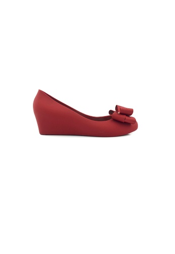 SHINE red Ribbon Jelly Wedges C6554SH1657BBDGS_1
