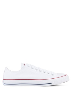 843ca2a6ca75 Converse white Chuck Taylor All Star Ox Unisex Sneakers CO302SH03YZGMY 1