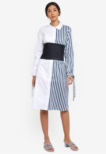 Haute Kelly white Hye-Rin Dress 14941AA8A12596GS_1