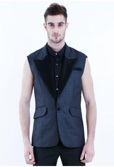 [PRE-ORDER] Sleeveless Club Jacket