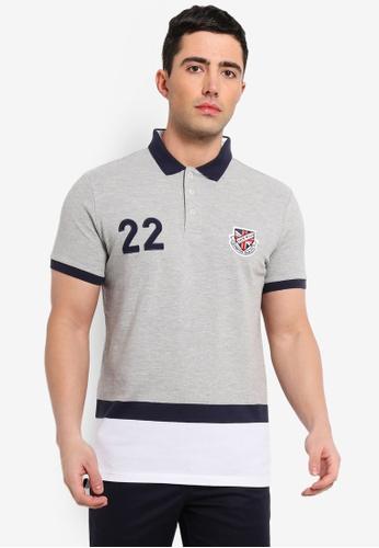 d2c6e61b8b4 Buy Jack Wills Tadley Varsity Polo Shirt   ZALORA HK