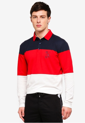 ESPRIT 白色 Long Sleeve Polo Shirt 8836CAAFB00E70GS_1