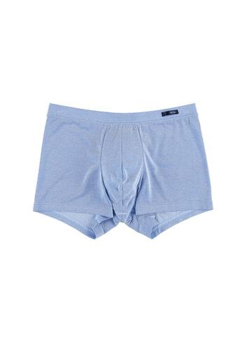 HOM blue Yacht club comfort boxer briefs B2628USCB19622GS_1