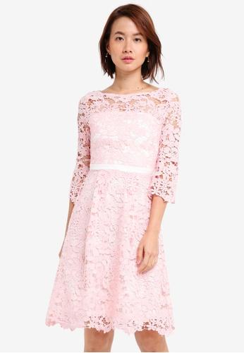 Vesper pink Vesper Tamsin Lace Full Dress 113CDAA546E079GS_1