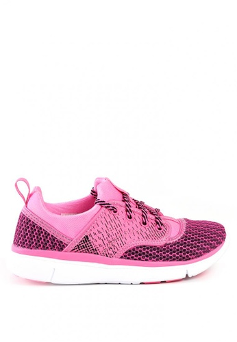 World Balance pink Omni Flex L Sneakers DF983SHFF9DDD2GS_1