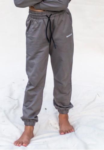 BACHDIM grey Girl Sweat Pants E591DKAFEE53E2GS_1