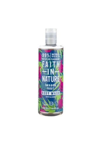 Holland & Barrett Faith in Nature Dragon Fruit Body Wash 400ml 345CFESF29D9D2GS_1