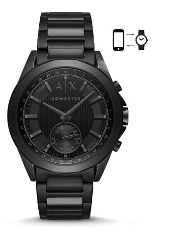 Armani Exchange black Armani Exchange Drexler Smart Watch AXT1007 52FCCAC462E555GS_1