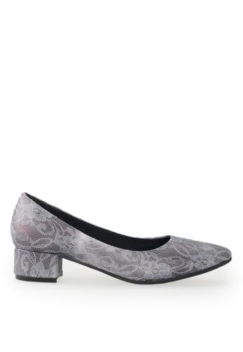 Footspot grey FOOTSPOT - Point Toe Heels 05394SH9182396GS_1