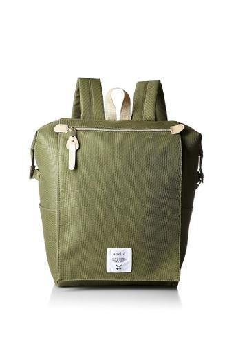 Anello ANERO Covered High-Capacity Backpack-ATB1224-KH KHAKI 2E350AC0BF2D7BGS_1