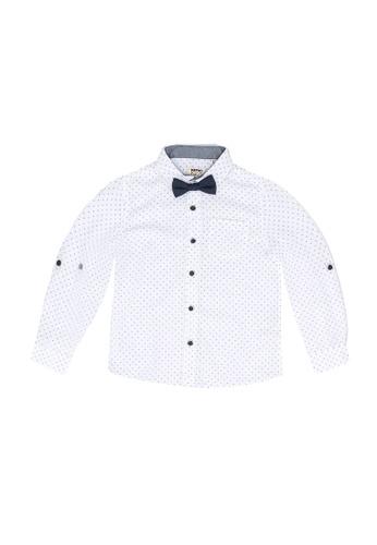 KOTON white Bow Shirt 2B7F2KA17844FCGS_1
