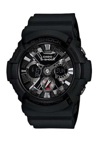 CASIO black Casio G-Shock Silver and Black Resin Watch 8CF3AACAD2E630GS_1
