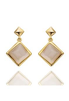 Esmeralda Gold Earrings