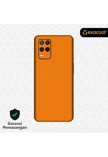 Exacoat Realme 8 5G Skins True Colors - Pumpkin Orange 4FF9DESBCC30D1GS_1