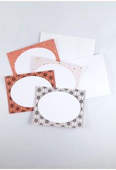 Blooms & Specks Mini Notecards Set