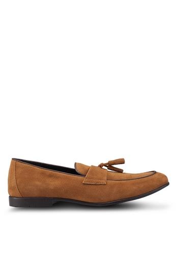 Topman brown Brown Prince Loafers 129C7SH7D87D5CGS_1