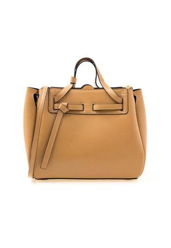 LOEWE 褐色 Loewe Mini Lazo 斜背包(棕色) 4706FAC0150A11GS_1