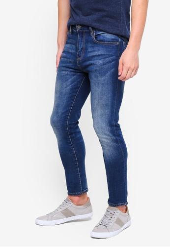 Superdry 藍色 修身牛仔褲 B9C48AA5507B9DGS_1