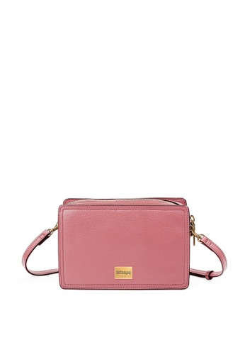Rabeanco red and pink RABEANCO GEO Mini Bag - Coral Blush 5AAB6AC4F748D0GS_1