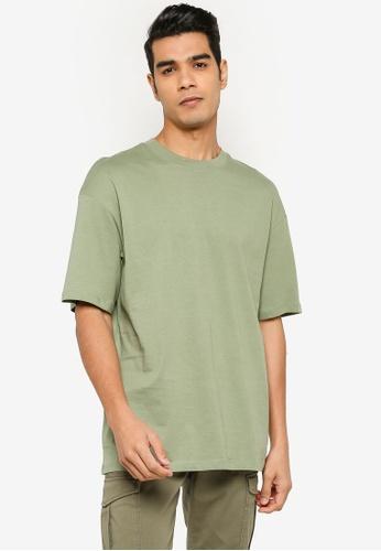 Jack & Jones green JORBRINK TEE SS CREW NECK NOOS D8263AA514AE69GS_1