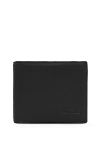Valentino Rudy black and brown Valentino Rudy Duotone Bi-fold Wallet 805C1AC3D190F2GS_1