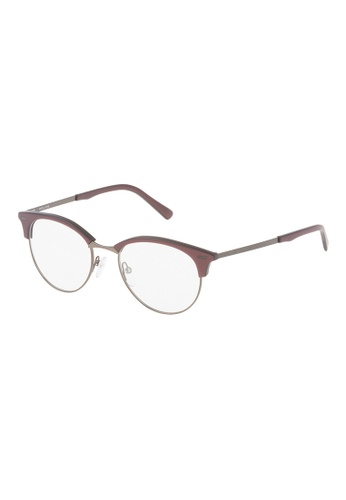 Police brown POLICE Linear 4 Eyeglasses VPL136M 0Z30 PO706AC92OXZMY_1