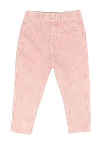 FOX Kids & Baby pink Baby Girl Denim Pants C2EF9KA21A7B29GS_1
