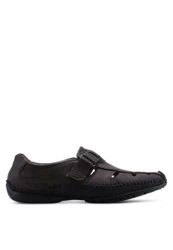 Louis Cuppers 褐色 Cut Out Shoes 086B7SHBE9EADFGS_1