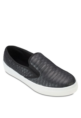 蛇esprit part time紋懶人鞋, 女鞋, 鞋