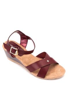 Pia Wedge Sandals