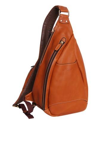 真皮騎士斜背包, 包, zalora 包包評價後背包