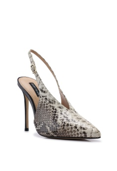 5a7a9dae8ac1f 60% OFF River Island Snake Print V Sling Back Court Heels Php 6,399.00 NOW  Php 2,539.00 Sizes 3 4 5 6 7