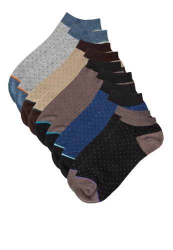 五入彩色踝襪, 服飾,zalora 折扣碼 男性服飾