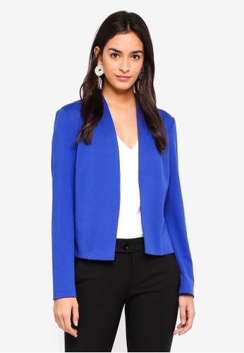 Vero Moda blue Wiona Long Sleeve Blazer AAE90AAB654FFFGS_1