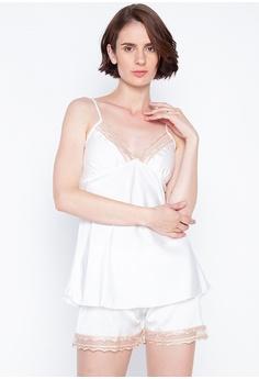 652ca298f1f0 White Label white Lauren Sleepwear Camisole Set 962CAAABDD16F2GS_1