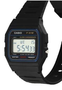 30% OFF Casio Casio F-91W-1Dg-Id Rp 299.000 SEKARANG Rp 209.300 Ukuran One Size
