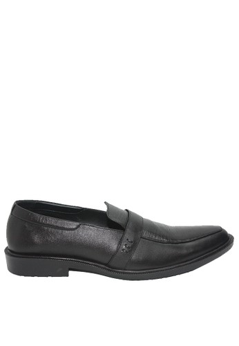Dr. Kevin black Dr. Kevin Men Dress & Bussiness Formal Shoes 13381 - Black EB81ASH4A12A56GS_1