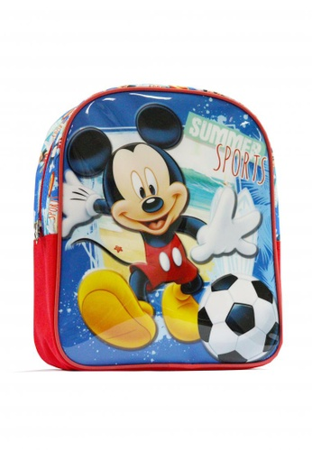 Disney red Mickey Mouse Boys' Backpack 65FA9KC1A0065CGS_1