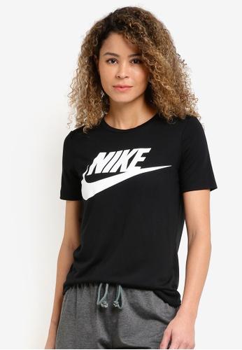 Nike black Women's Nike Sportswear Essential T-Shirt NI126AA22YJXMY_1