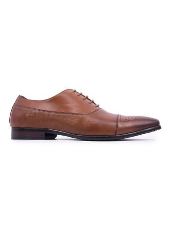 Hanson Bootmaker brown Hanson Bootmaker Lace-up Oxford - Tan C682DSH02234C1GS_1