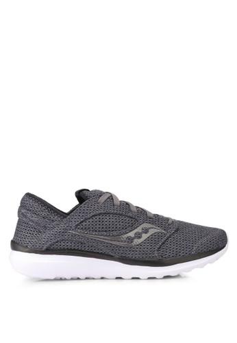 Saucony grey Kineta Relay Shoes SA304SH0SW5EMY_1
