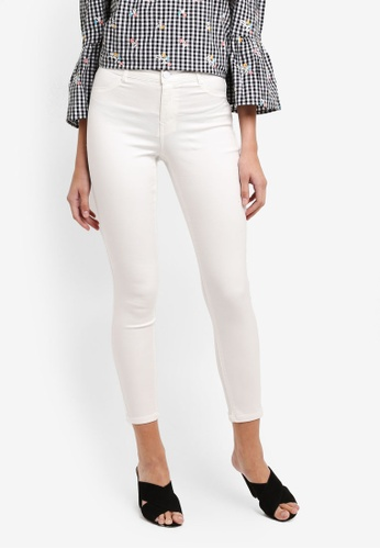 Dorothy Perkins white Petite White Frankie Jeans 2A650AAB8672F8GS_1